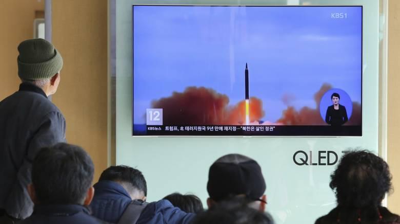 Πάτησε το κουμπί ο Κιμ: Η Βόρεια Κορέα εκτόξευσε δύο πυραύλους στη Θάλασσα της Ιαπωνίας