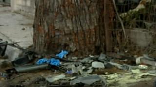 Αλέξανδρος Ζαχαριάς: Σοκαριστικές εικόνες από το διαλυμένο αυτοκίνητό του