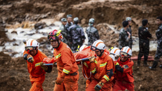 Κίνα: Δεκάδες νεκροί και αγνοούμενοι από κατολίσθηση