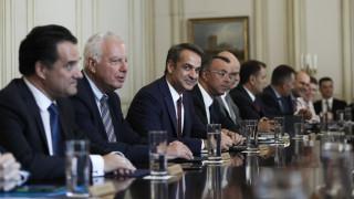 Υπουργικό Συμβούλιο: «Φορτωμένη» η ατζέντα της κυβέρνησης Μητσοτάκη