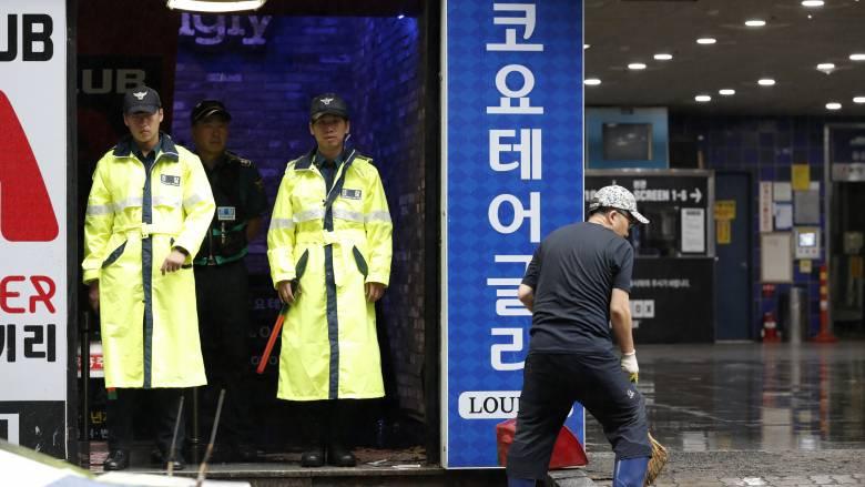 Νότια Κορέα: Δύο νεκροί, πολλοί τραυματίες από κατάρρευση οροφής σε νυχτερινό κλαμπ