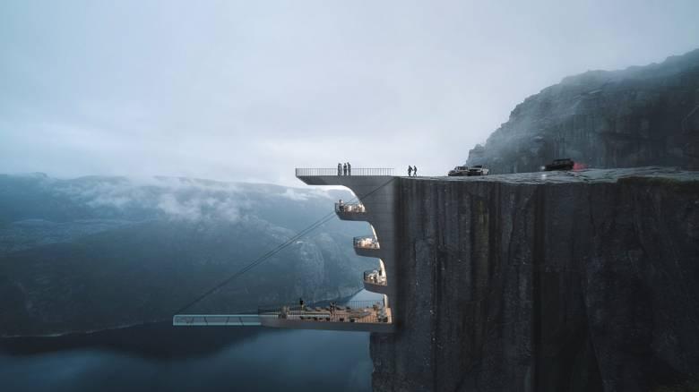 Με θέα τα νορβηγικά φιορδ: Ένα ξενοδοχείο που κόβει την ανάσα