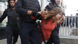 Ρωσία: Εκατοντάδες συλλήψεις σε διαδήλωση της αντιπολίτευσης