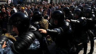 Μόσχα: Περισσότερες από 1.000 συλλήψεις σε διαδήλωση της αντιπολίτευσης