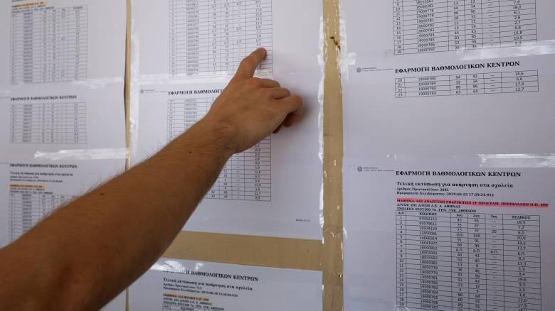 Βάσεις 2019: Τι αποκαλύπτουν οι τελευταίες προβλέψεις για 459 σχολές