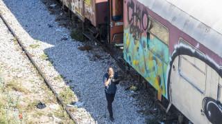 Θεσσαλονίκη: Φωτιά σε βαγόνι του ΟΣΕ έξω από το Σιδηροδρομικό Σταθμό