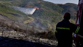 Πυρκαγιά στην Ιτέα
