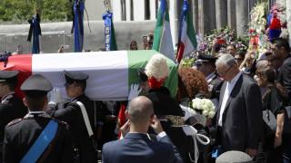 Ιταλία: Πένθος στη χώρα για τον 35χρονο αστυνομικό που σκότωσε Αμερικανός τουρίστας