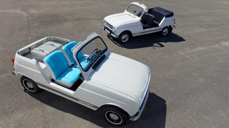 Η Renault ακολουθεί τη μόδα της εποχής και δίνει νέα ζωή στο θρυλικό 4L με το e-Plein Air