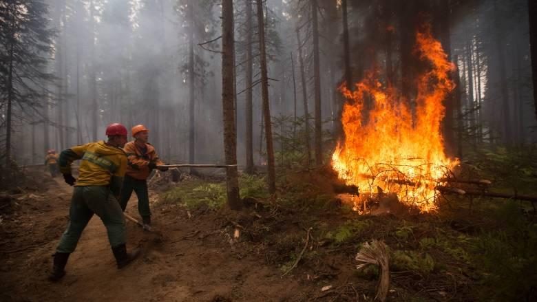 Καίγεται η Σιβηρία – Σε κατάσταση έκτακτης ανάγκης δύο περιοχές