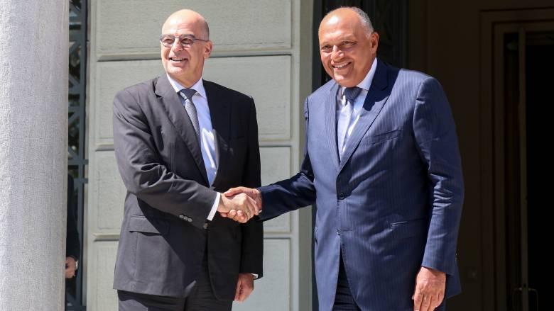Κοινό μήνυμα Ελλάδας - Αιγύπτου στην Τουρκία: Να σταματήσουν οι προκλήσεις στην Αν. Μεσόγειο
