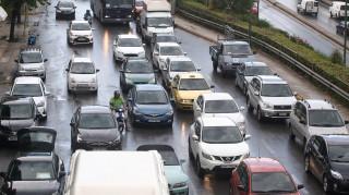 Κυκλοφοριακό χάος στην Αθήνα: Δείτε πού εντοπίζονται τα προβλήματα