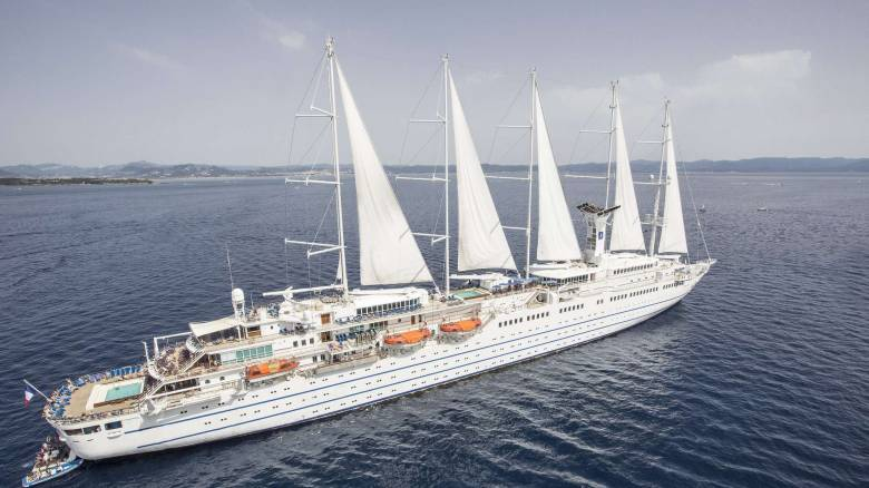 «Club Med 2»: Έδεσε στα Χανιά ένα από τα μεγαλύτερα ιστιοφόρα κρουαζιερόπλοια του κόσμου