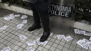 Εισβολή του Ρουβίκωνα σε κατάστημα κινητής τηλεφωνίας