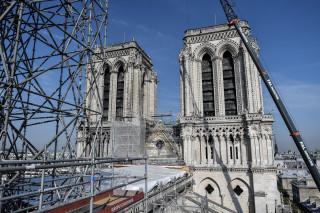 Παναγία των Παρισίων: Μια προσωρινή εγκατάσταση για την επαναλειτουργία της