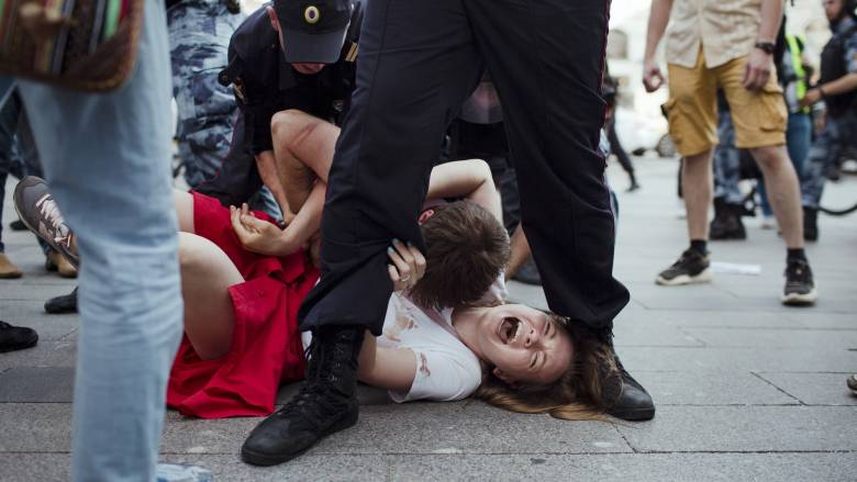Ρωσία: Συνεχίζονται οι συλλήψεις για την διαδήλωση υπέρ της διεξαγωγής ελεύθερων εκλογών