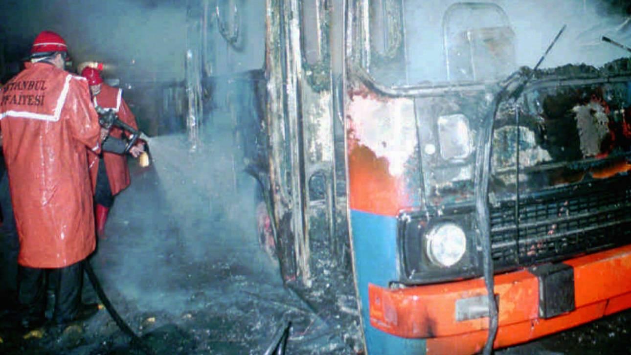 Τουρκία: Πέντε νεκροί από φωτιά που ξέσπασε σε λεωφορείο