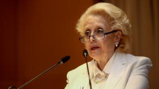 Απομάκρυνση της Βασιλικής Θάνου από την Επιτροπή Ανταγωνισμού προβλέπει το πολυνομοσχέδιο