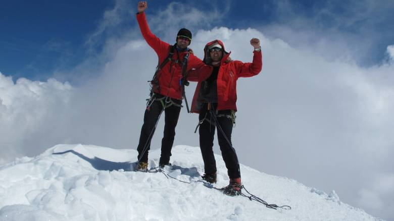 Την κορυφή του όρους Matterhorn στην Ιταλία «κατέκτησαν» δύο Έλληνες ορειβάτες