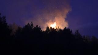 Φωτιά στην Αρχαία Ολυμπία: Καλύτερη η εικόνα - Αποχώρησαν τα εναέρια μέσα