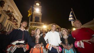 Με... μαντινάδα ευχαρίστησε ο Μητσοτάκης τους κατοίκους της Καρπάθου