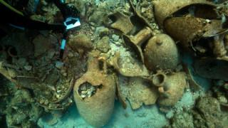 Αρχαία ναυάγια ανακαλύφθηκαν στην νήσο Λέβιθα