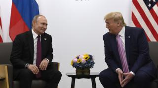 Τηλεφωνική επικοινωνία Τραμπ – Πούτιν: Τι συζήτησαν οι δύο πρόεδροι