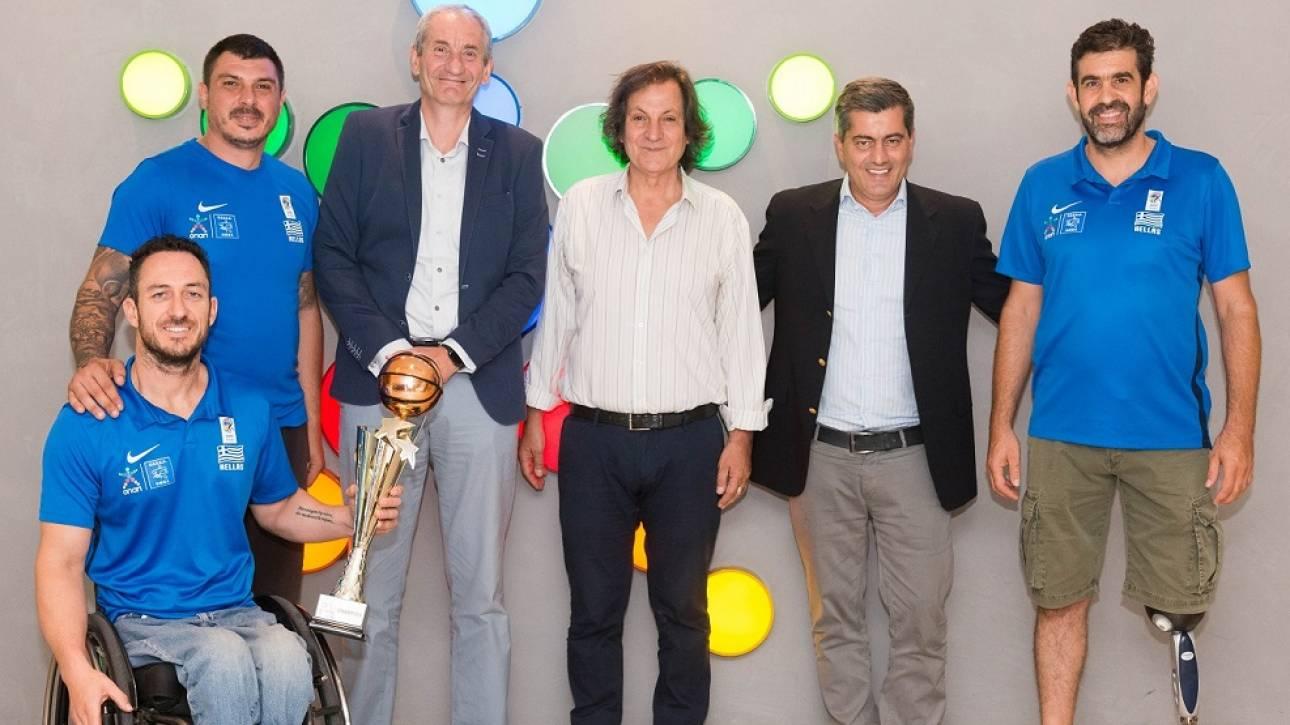 Στην κορυφή της Ευρώπης η Εθνική Ομάδα Καλαθοσφαίρισης με Αμαξίδιο