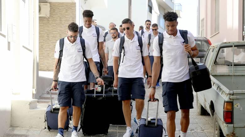 Εθνική Ανδρών: Έφτασε στην Κρήτη και ετοιμάζεται για τα πρώτα φιλικά