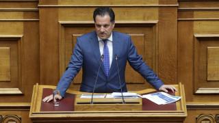 Άδ. Γεωργιάδης: Ο κ. Τσίπρας στέλνει κακό μήνυμα στο εξωτερικό και στους επενδυτές