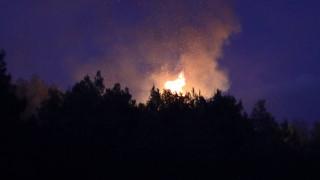 Φωτιά στο Χουδέτσι Ηρακλείου