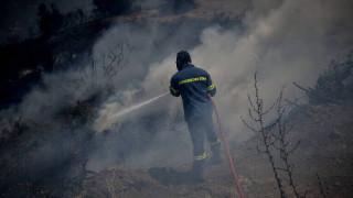 Ηράκλειο: Κατασβέστηκαν οι πυρκαγιές σε Χουδέτσι και Κρουσώνα μετά από ολονύχτια «μάχη»