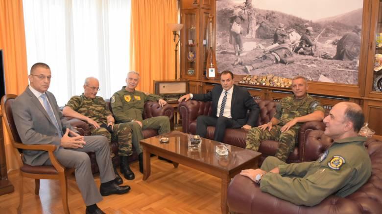 Παναγιωτόπουλος: Σχεδιάζουμε ισχυρή και τρομακτική «ομπρέλα ασφαλείας»