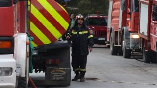Τουριστικό λεωφορείο τυλίχτηκε στις φλόγες στην Εγνατία Οδό