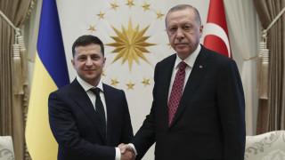 Ερντογάν: Δεν αποδεχθήκαμε και δεν θα αποδεχθούμε την παράνομη προσάρτηση της Κριμαίας