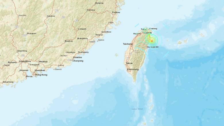 Σεισμός 5,9 Ρίχτερ στην Ταϊβάν