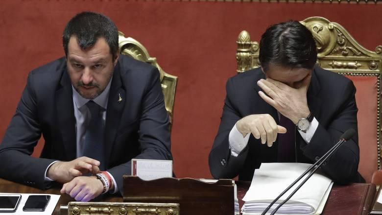 Ιταλία: Τίτλοι τέλους για τον κυβερνητικό συνασπισμό - Πρόωρες εκλογές ζητά ο Σαλβίνι