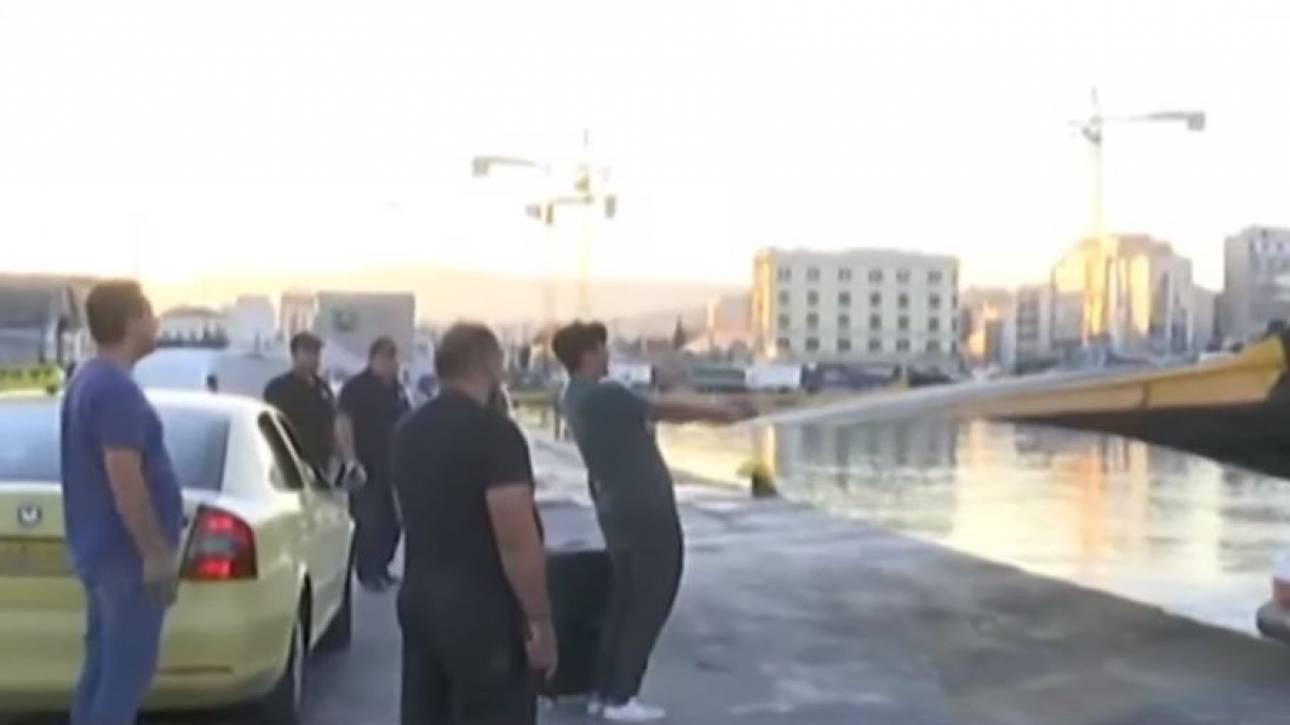 Επιβάτης έχασε το πλοίο κυριολεκτικά στο... παρά ένα!