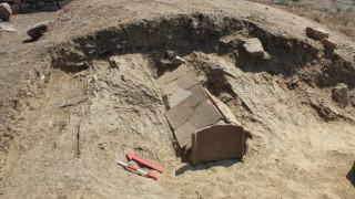 Τήνος: Ανακάλυψαν επιτύμβιες στήλες από την κλασική εποχή
