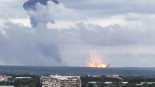 Στους εννέα οι τραυματίες από τις νέες εκρήξεις στις αποθήκες πυρομαχικών στην Σιβηρία