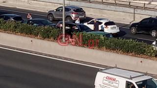 Τροχαίο στην Αθηνών - Λαμίας: Μεγάλο μποτιλιάρισμα