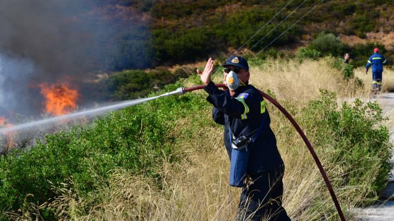 Μεγάλη πυρκαγιά στην Ελαφόνησο - Εκκενώνεται camping