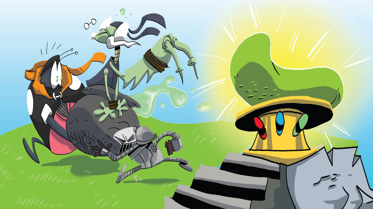 «Μπάμπουρες» οι πρωταγωνιστές ενός κόμικ για παιδιά
