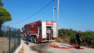 Κεφαλονιά: Πυρκαγιά κοντά στο αεροδρόμιο του νησιού