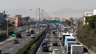 Τροχαίο στην Αθηνών - Λαμίας στο ύψος της Μεταμόρφωσης
