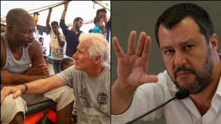 «Μπορείς να πάρεις τους μετανάστες στο Χόλιγουντ»: Απάντηση Σαλβίνι στον Ρίτσαρντ Γκιρ