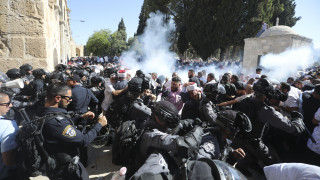 Ισραήλ: Συγκρούσεις ανάμεσα σε Ισραηλινούς αστυνομικούς και Παλαιστίνιους πιστούς
