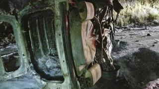 Αρκούδα – περιπολικό 1-0: Στις φλόγες το όχημα μετά από «σύγκρουση» με το ζώο