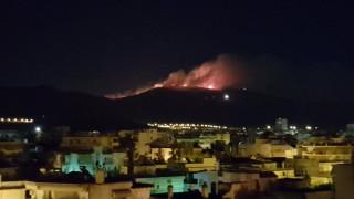 Φωτιά στην Παιανία - Καίγεται ο Υμηττός