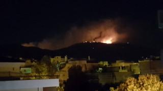 Μεγάλη φωτιά στον Υμηττό - Ενισχύθηκαν οι πυροσβεστικές δυνάμεις